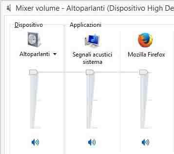 Windows Mixer